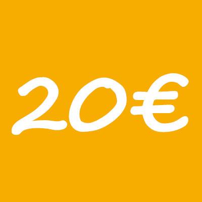 donacion 20 euros