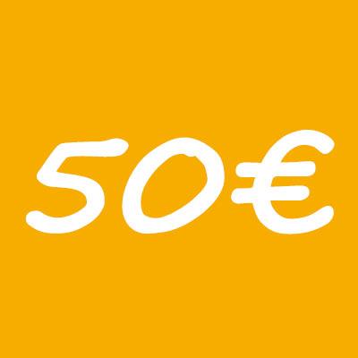 donacion 50